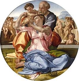 Doni Tondo (1506) - Michelangelo