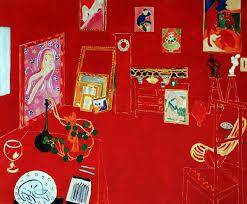 L'atelier rouge / Het rode atelier (1911) - Henri Matisse