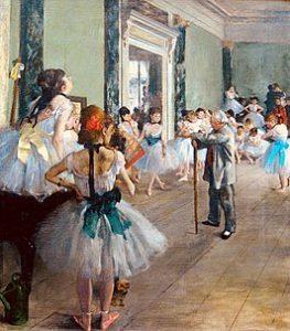 La Classe de danse / De balletklas (1871–1874) - Edgar Degas