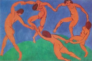 La danse / De dans (1910) - Meest bekende schilderijen van Henri Matisse