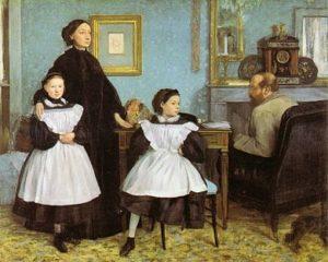 La famille Bellelli / De familie Bellelli (1858-1867) - Edgar Degas