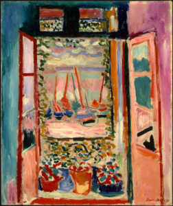 La fenêtre ouverte / Het open raam (1905) - Henri Matisse