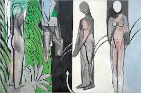 Les demoisseles á la rivière / Dames bij de rivier (1917) - Henri Matisse