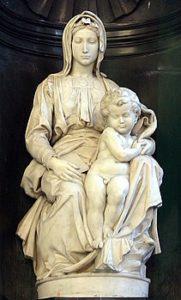 Madonna met kind / Madonna di Bruges (1504) - Michelangelo