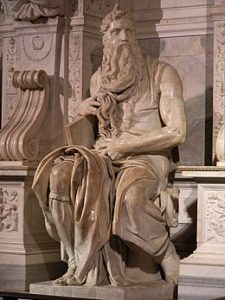 Moses (1515) – Michelangelo