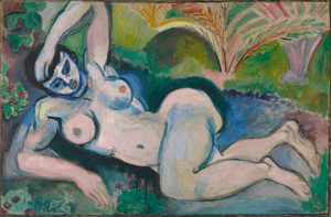 Nu bleu, souvenir de Biskra / Blauw naakt (1907) - Henri Matisse