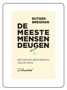 De meeste mensen deugen - Rutger Bregman