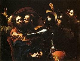 De gevangenneming van Christus / Presa di Cristo nell'orto of Cattura di Cristo (ci. 1602) - Caravaggio