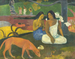 Arearea (1892) - Paul Gauguin