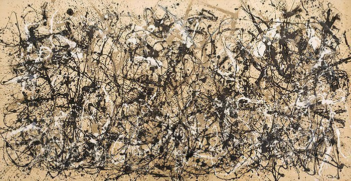 Autumn Rhythm (1950) - Jackson Pollock