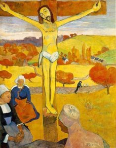 Le Christ jaune / De gele christus (1889) - Paul Gauguin