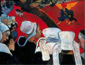 La vision après le sermon / Het visioen na de preek (1888) - Paul Gauguin