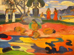 Mahana No Atua / Dag van de god (1894) - Paul Gauguin