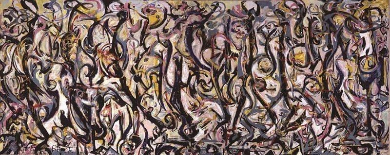 Mural (1943) Jackson Pollock