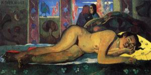 Nevermore / Nimmermeer (1897 Paul) - Gauguin