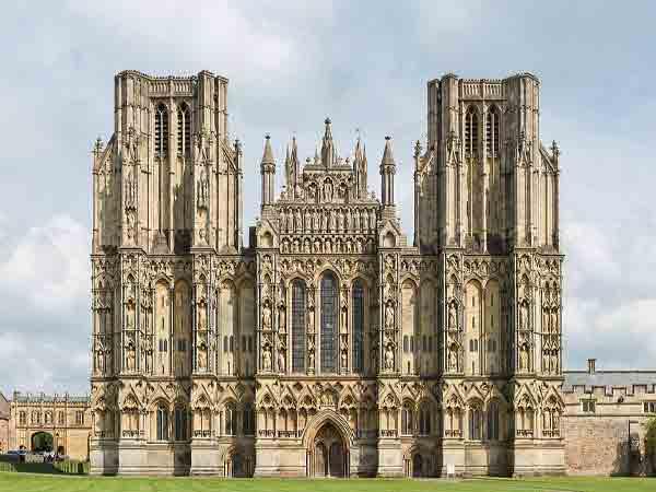 Wells Cathedral Mooiste Engelse kathedralen
