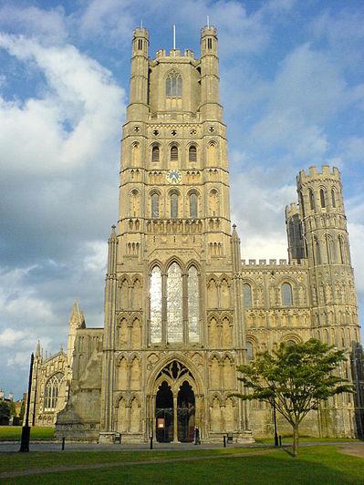 De kathedraal van Ely