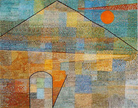 Ad Parnassum (1932) - Paul Klee