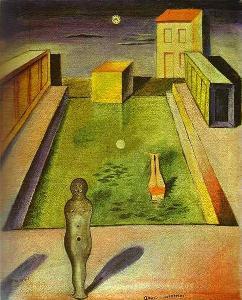 Aquis Submersus (1919) - Max Ernst