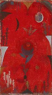 Blumenmythos (1918) - Paul Klee