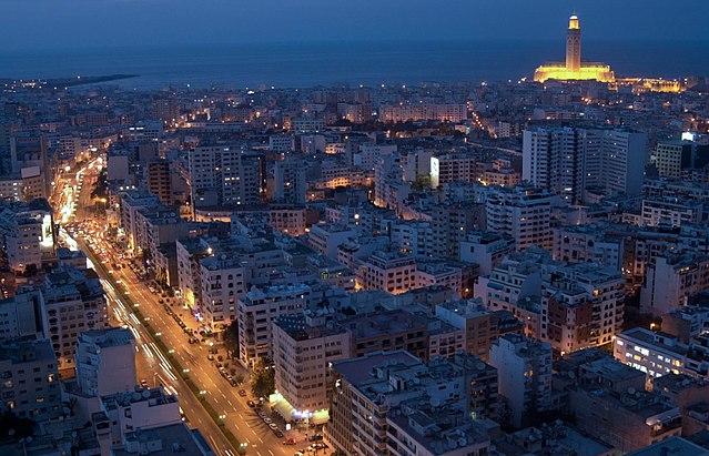 Casablanca - Aymane fahssi [CC BY-SA 4.0 (https://creativecommons.org/licenses/by-sa/4.0)]