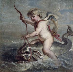 Cupido, de god van de liefde