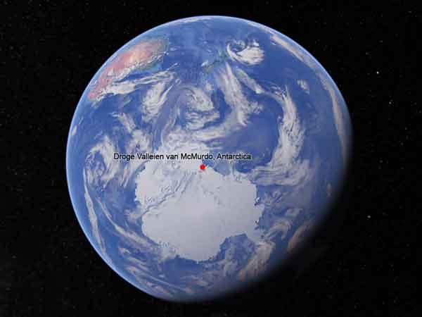 Droogste gebieden op aarde: Droge Valleien van McMurdo, Antarctica