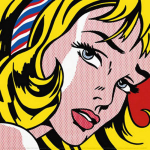Girl with Hair Ribbon  (1965) - Roy Lichtenstein