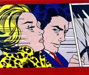 In the Car (1963) - Roy Lichtenstein