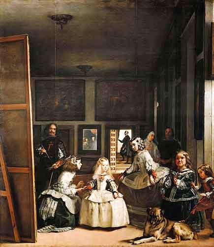 Las Meninas / De hofdames (1656) - Diego Velazquez