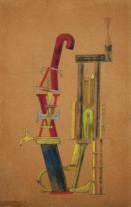 Von minimax dadamax selbst konstruiertes maschinchen (1910-1920) - Max Ernst