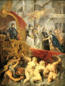 De ontscheping van Maria de Medici te Marseille (1625) - Peter Paul Rubens