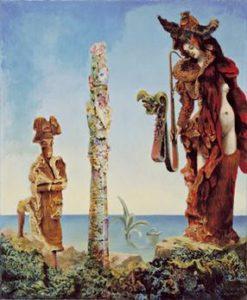 Napoleon in der Wildnis (1941) - Max Ernst