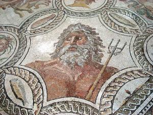 Neptunus, de god van zee
