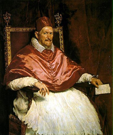 Retrato de Inocencio X / Portret van Paus Innocentius X (1650) - Diego Velazquez