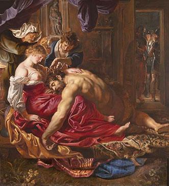 Samson en Delila (1609-1910) - Peter Paul Rubens