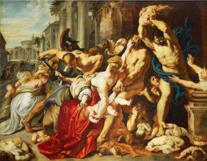 De kindermoord te Bethlehem (1611-12) - Peter Paul Rubens