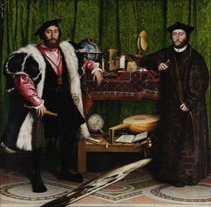 Die Gesandten / De ambassadeurs (1533) - Hans Holbein de Jonge