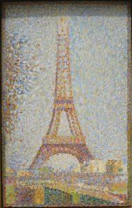 La Tour Eiffel / De Eiffeltoren (1889) - Georges Seurat