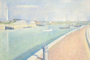 Petit Fort Philippe / De haven van Gravelines (1890) - Georges Seurat