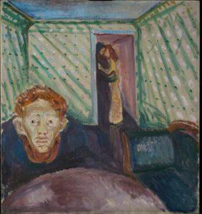 Jealousy (1907) - Edvard Munch