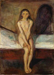 Puberty (1894-95) - Edvard Munch