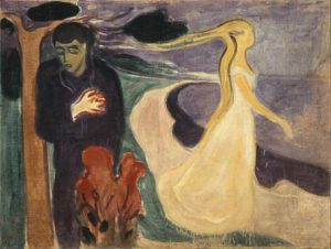 Separation (1896) - Edvard Munch