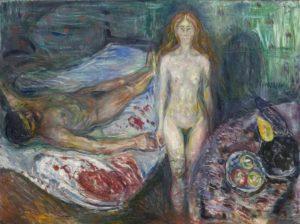 The Death of Marat (1907) - Edvard Munch