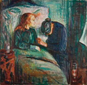 The Sick Child (1907) - Edvard Munch