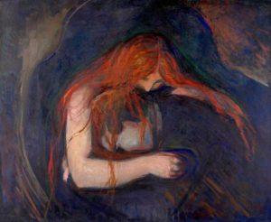 Vampire (1893) - Edvard Munch