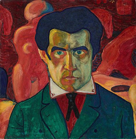 Self-Portrait (ci. 1910) - Kazimir Malevich