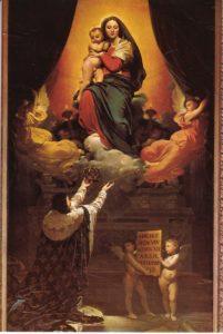 Le Vœu de Louis XIII / De gelofte van Louis Louis XIII (1824) - Jean-Auguste-Dominique Ingres