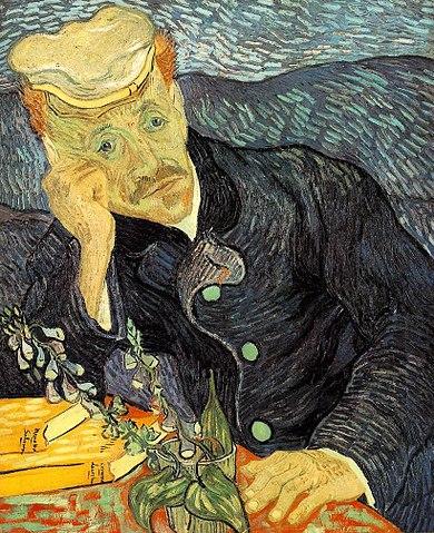 Portrait du Dr. Gachet (1890) - Vincent van Gogh