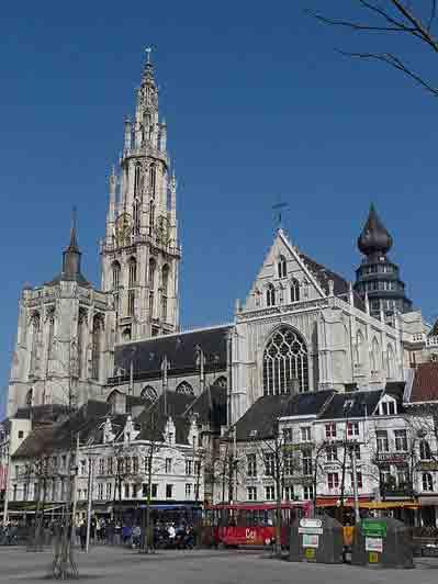 Onze-Lieve-Vrouwekathedraal in Antwerpen